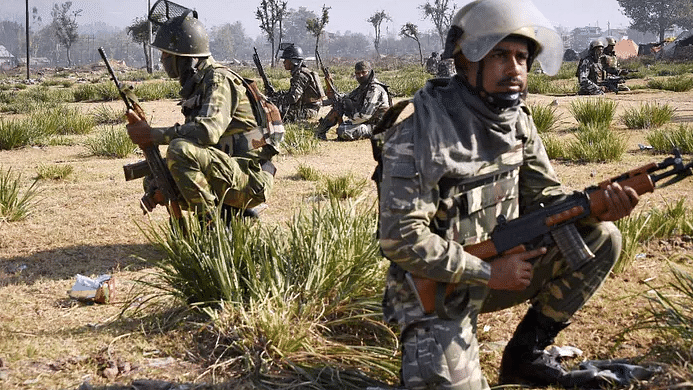 Security forces guarding the Naxal-prone area in Orissa. Image used for representation purposes.
