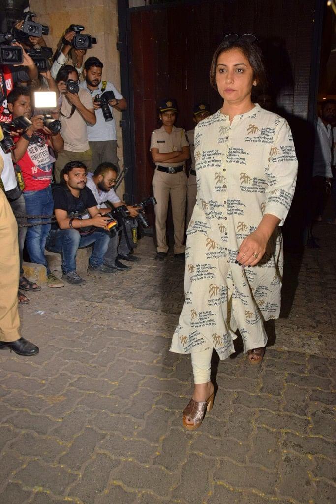 Divya Dutta arrives as well.