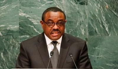 Ethiopia Prime Minister Hailemariam Desalegn.