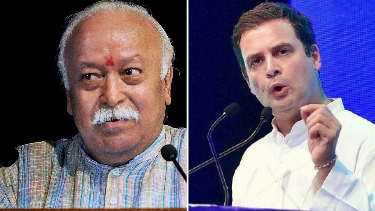 'Apologise,  RSS': Rahul Gandhi On Mohan Bhagwat's Army Comment