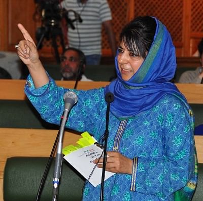 Jammu and Kashmir Chief Minister Mehbooba Mufti. (Photo: IANS)