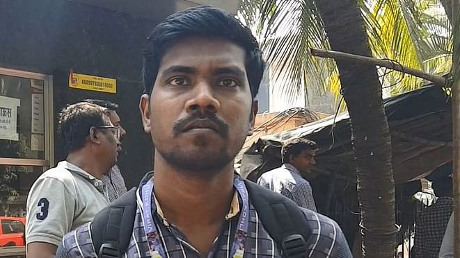 Praveen Das, an employee with Gitanjali Gems talks about his worries after being unemployed.