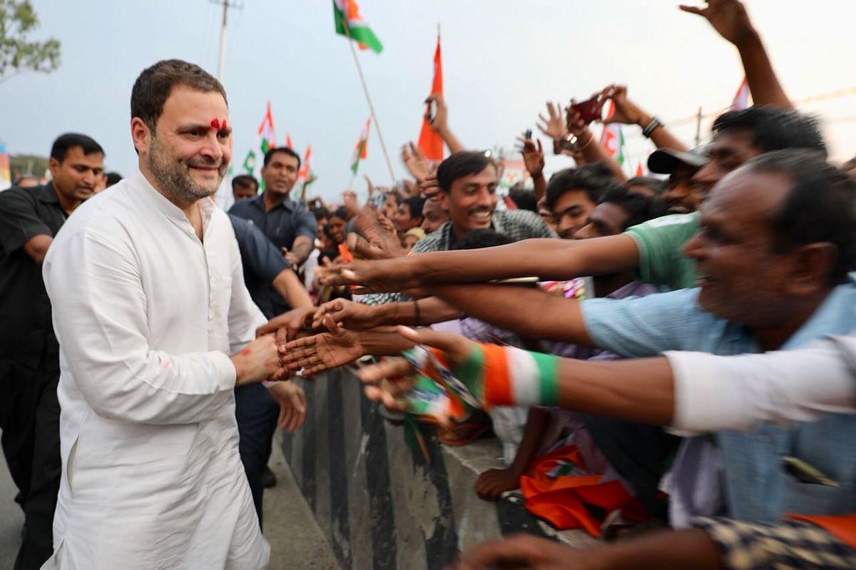 Photos from Rahul Gandhi's north Karnataka rally.