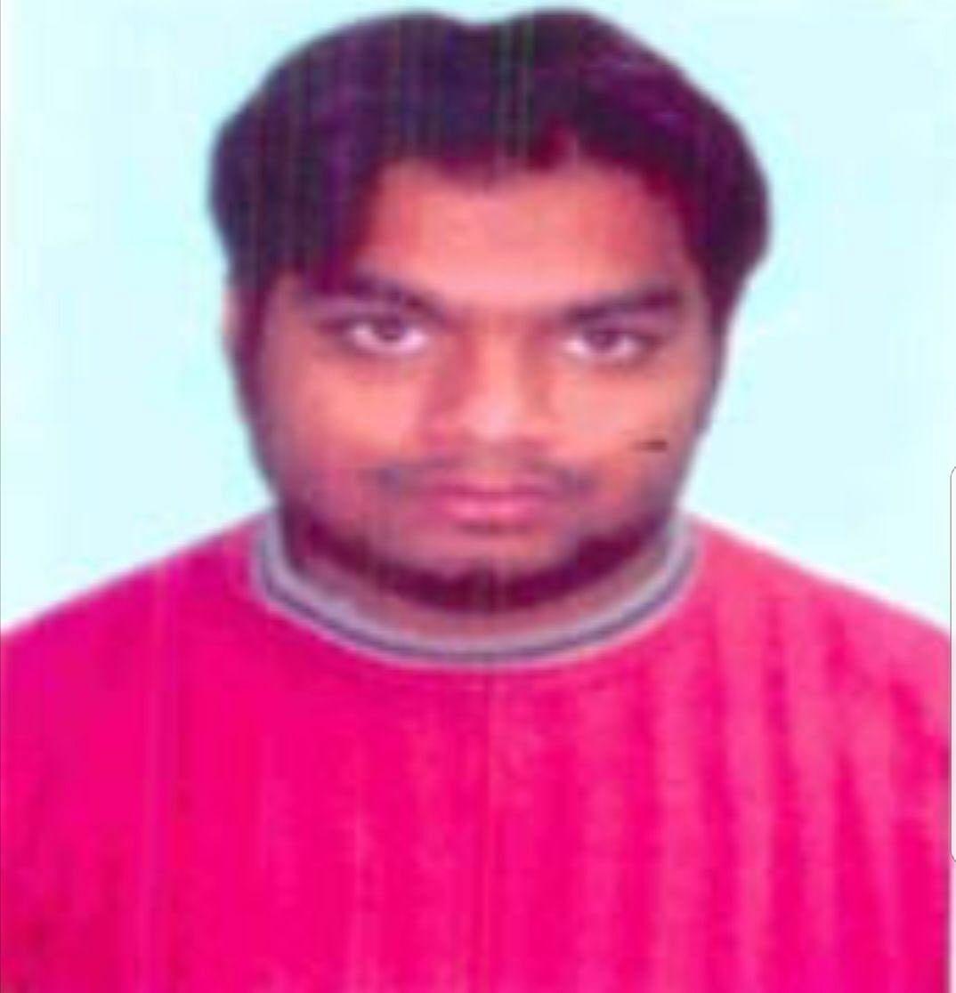 File Photo of Ariz Khan alias Junaid.