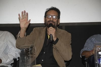 Panaji : Film Director Shekhar Kapur during the Digital Space Panel Discussion at 48th International Film Festival of India (IFFI-2017), in Panaji, Goa on November 25, 2017. (Photo: IANS)
