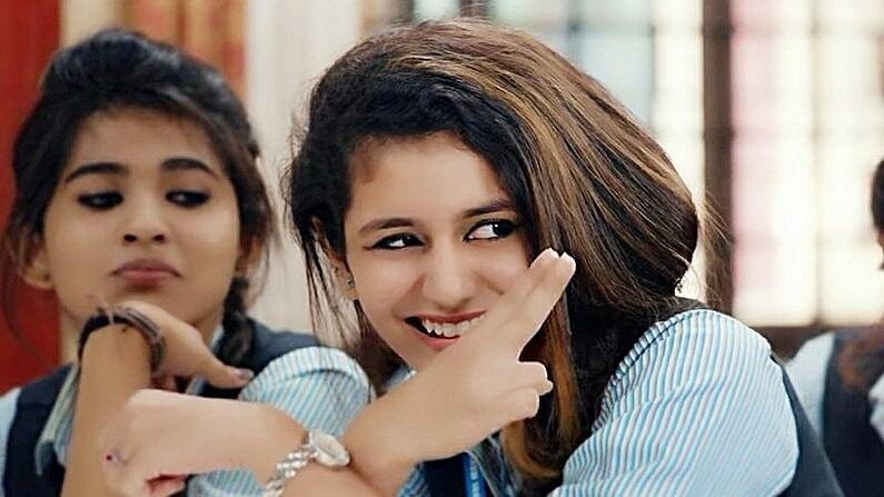 Priya Prakash Varrier in <i>Oru Adaar Love</i>.&nbsp;