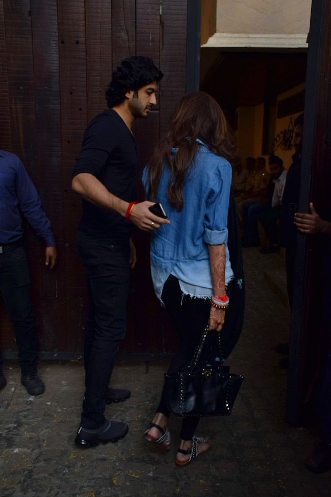 Newly wedded Antara and Mohit Marwah.