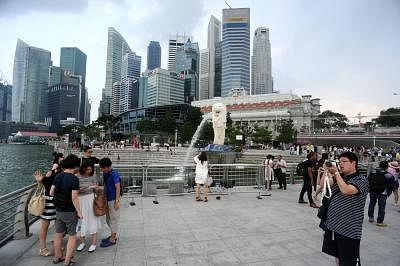 The Singapore Tourism Board (STB) on Friday said India has emerged as the third largest visitor arrivals (VA) source market for the island nation, notching the highest growth rate of 16 per cent. (Xinhua/Then Chih Wey/IANS)