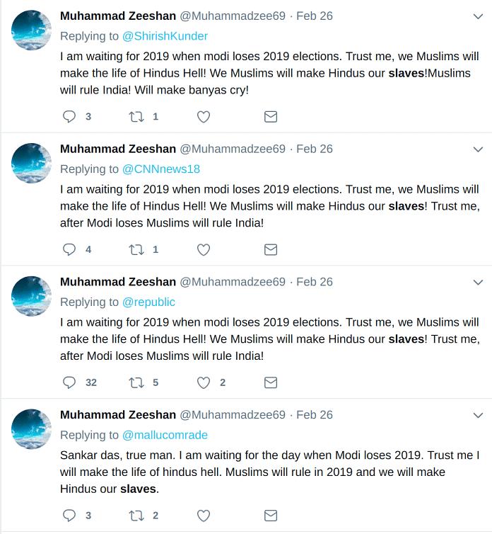 Recent tweets by @Muhammadzee68.