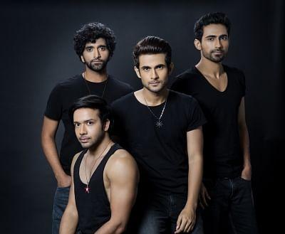 Pop rock band Sanam.
