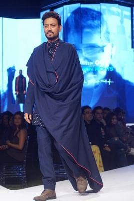 Mumbai: Actor Irrfan Khan at the GQ Fashion Nights 2017 in Mumbai on Nov 12, 2017.(Photo: IANS)