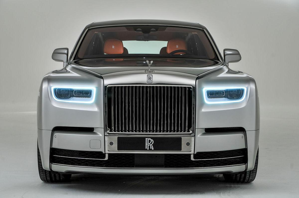 The Rolls Royce Phantom has a 6.75 litre, V-12 engine.