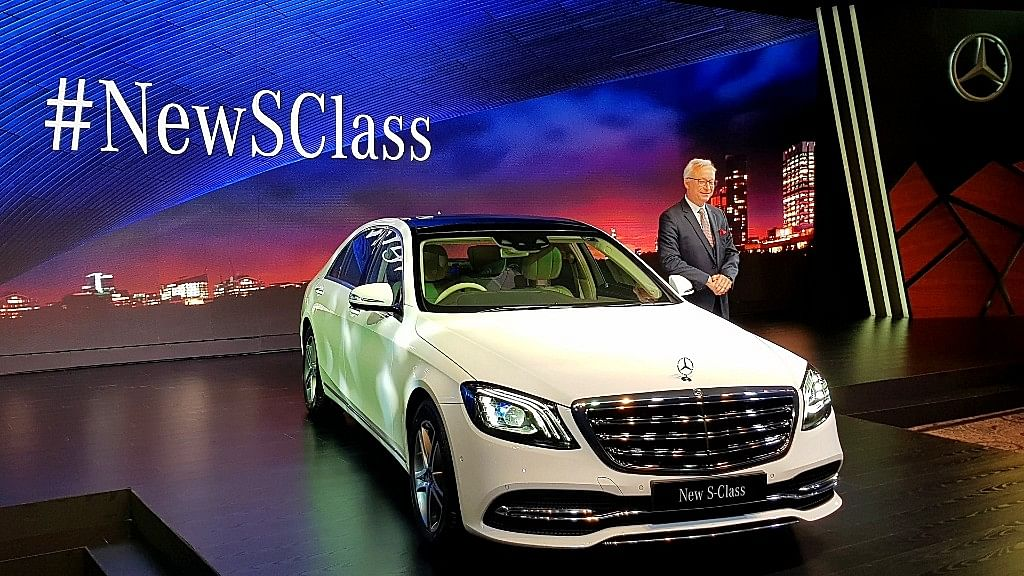 The Mercedes S-Class comes in two variants, S 450 petrol and S 350 diesel.