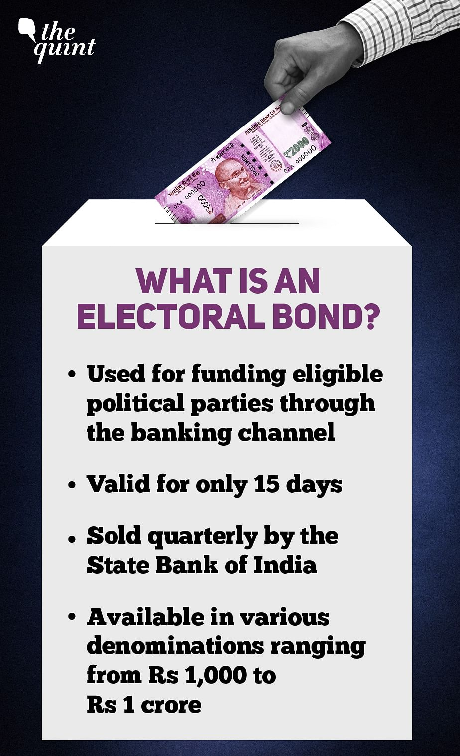 Exclusive: Will Non-Serialised Electoral Bonds Enable Corruption?