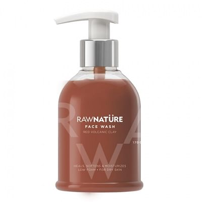 Volcanic Red Clay Face Wash.