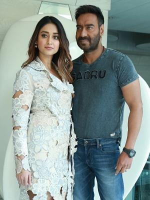 Actors Ajay Devgn and Ileana D