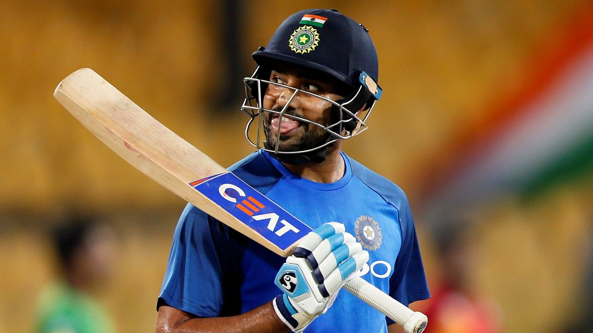 India's stand-in captain Rohit Sharma said he doesn't expect any pollution-related problem.