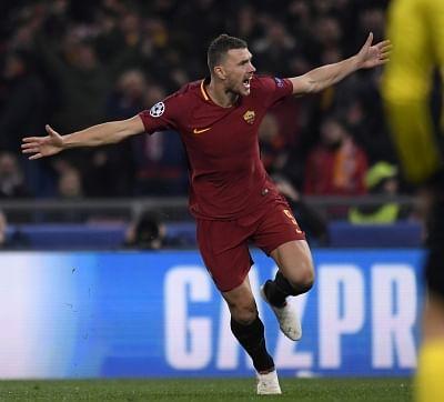 ROME, March 14, 2018 (Xinhua) -- Roma