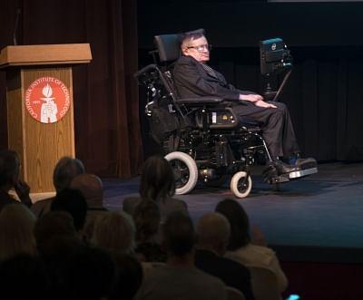 Stephen Hawking. (File Photo: Xinhua/Yang Lei/IANS)