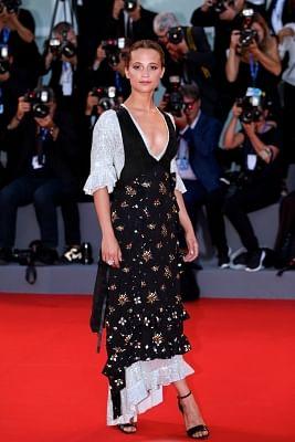 Actress Alicia Vikander. (Xinhua/Jin Yu/IANS)