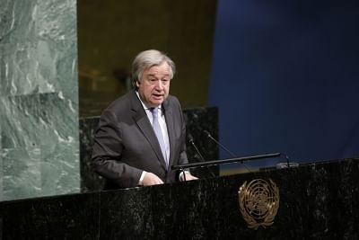 UN Secretary-General Antonio Guterres. (File Photo: Xinhua/Li Muzi/IANS)