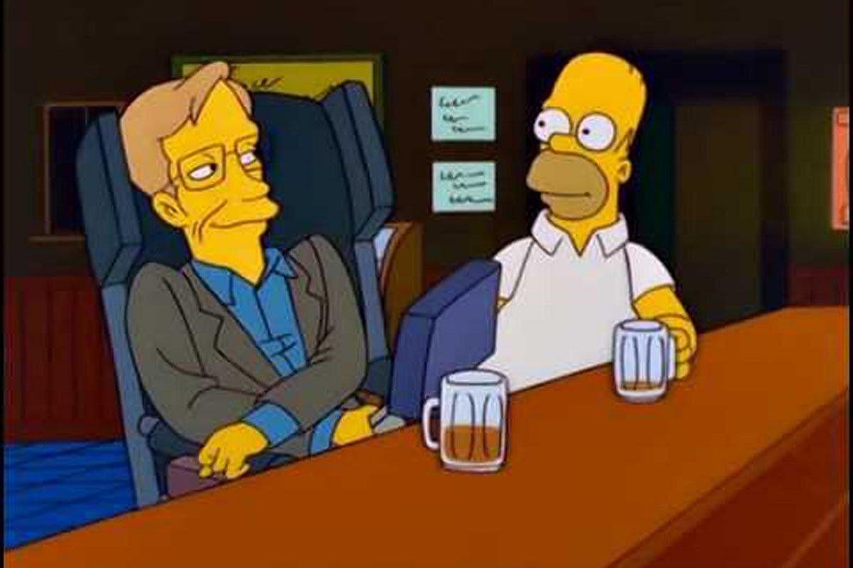 A still from <i>Simpsons</i>.