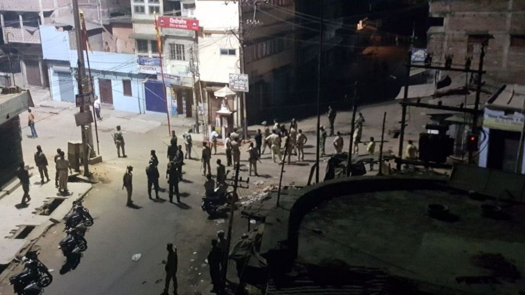 Security was beefed up in several districts in Bihar, including Munger.