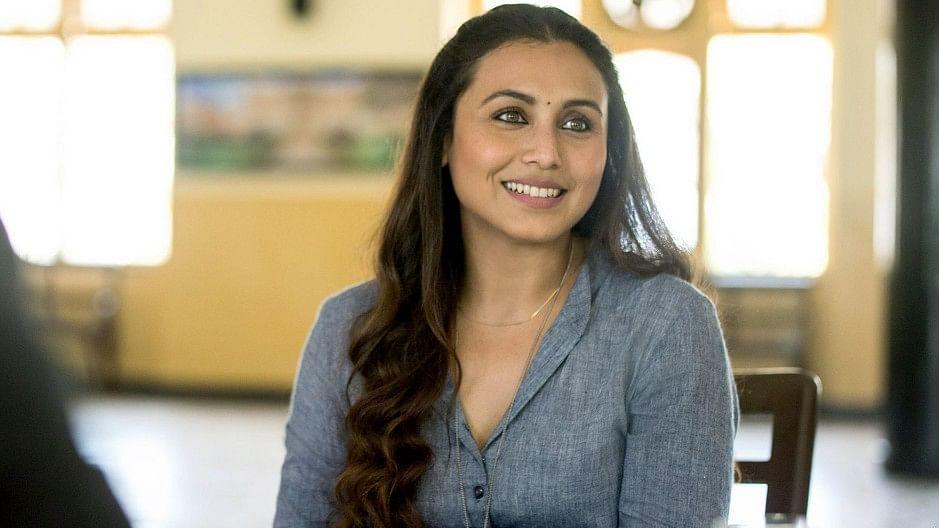 Rani Mukerji in <i>Hichki.</i>