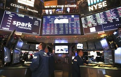 US stocks rebound amid economic reports . (Xinhua/Wang Ying/IANS)