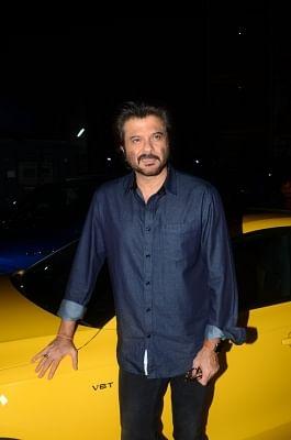 "Mumbai: Actor Anil Kapoor during the premiere of film ""Mubarakan"" in Mumbai, on July 27, 2017. (Photo: IANS)"