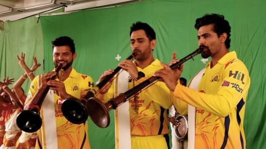 Watch: MS Dhoni's Chennai Super Kings Crew Get In the IPL Mood