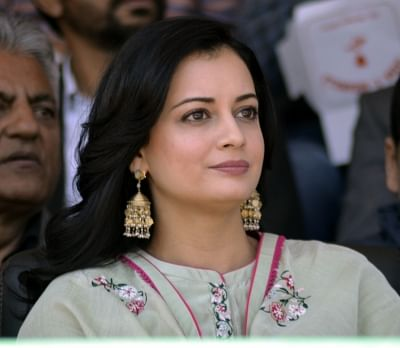 Actress Dia Mirza.