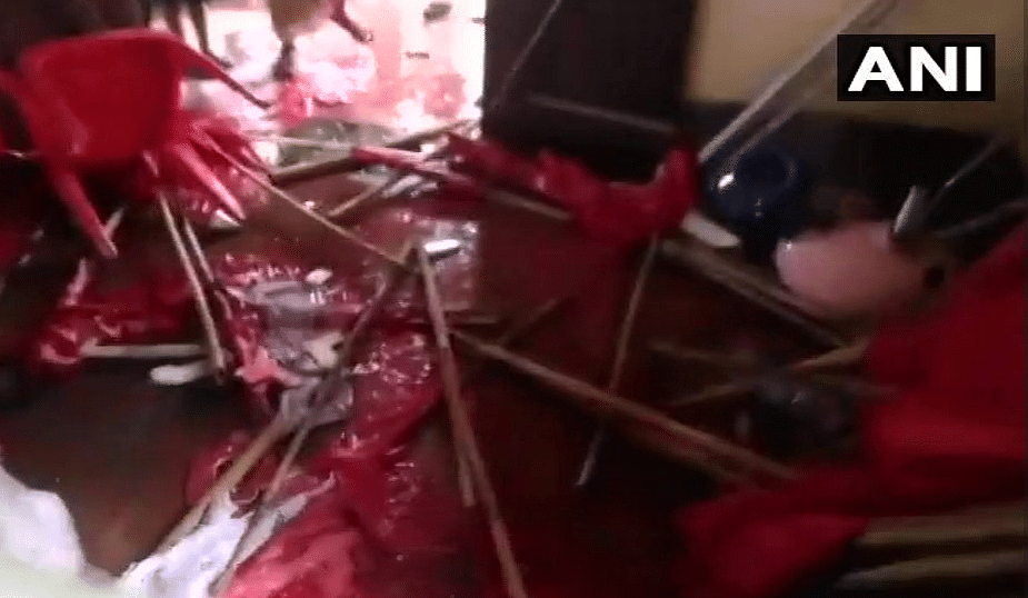 CPI(M) offices vandalised.