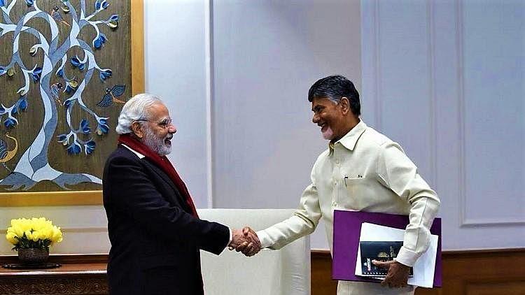 'Your Govt is Humanity Personified': Chandrababu Naidu to PM Modi