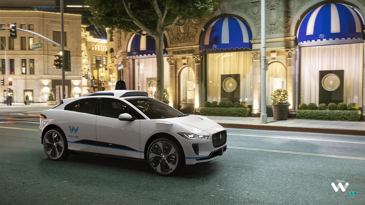 Self-Driving Cars From Waymo Are Plying on Roads as Taxis