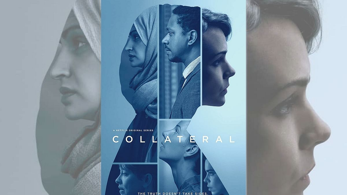A poster of Collateral.