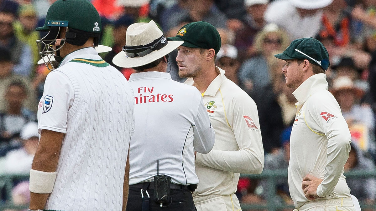 Cameron Bancroft was caught tampering with the ball during the third day of the Third Test in Cape Town.