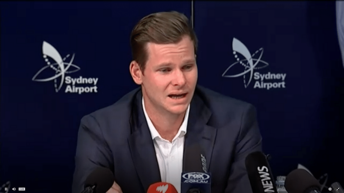 Watch: Steve Smith Breaks Down, Says He's 'Absolutely Devastated'