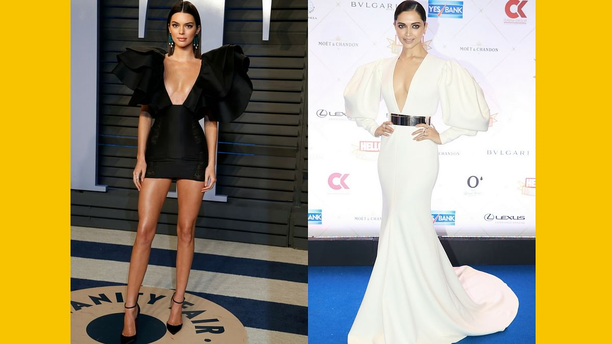 Is the Plunging Neckline the Standout Red Carpet Trend of 2018?