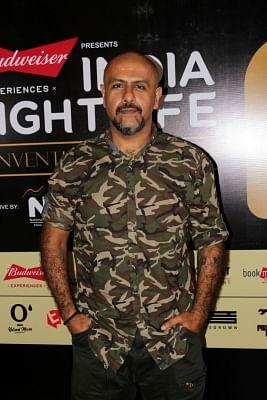 "Mumbai:Singer Vishal Dadlani during the ""India Nightlife Convention Awards"" in Mumbai on Oct 01, 2017 .(Photo: IANS)"