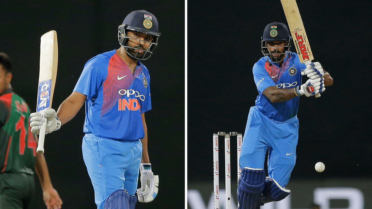 Dhawan has scored around 200 runs in the tournament while skipper Rohit is back in form after an 89 off 61 balls against Bangladesh.