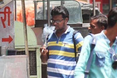 Smoking. (Photo: IANS)