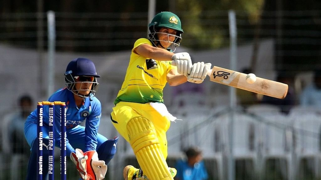 Australia won the opening game against India by eight wickets.