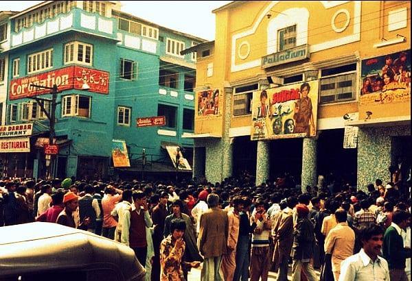Palladium Cinema was said to be the best cinema hall in Kashmir.