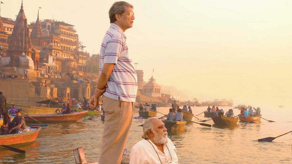 Actor Lalit Bahl in <i>Mukti Bhawan.</i>