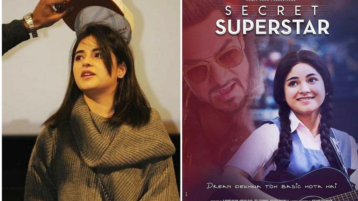Actor Zaira Wasim in <i>Secret Superstar</i>