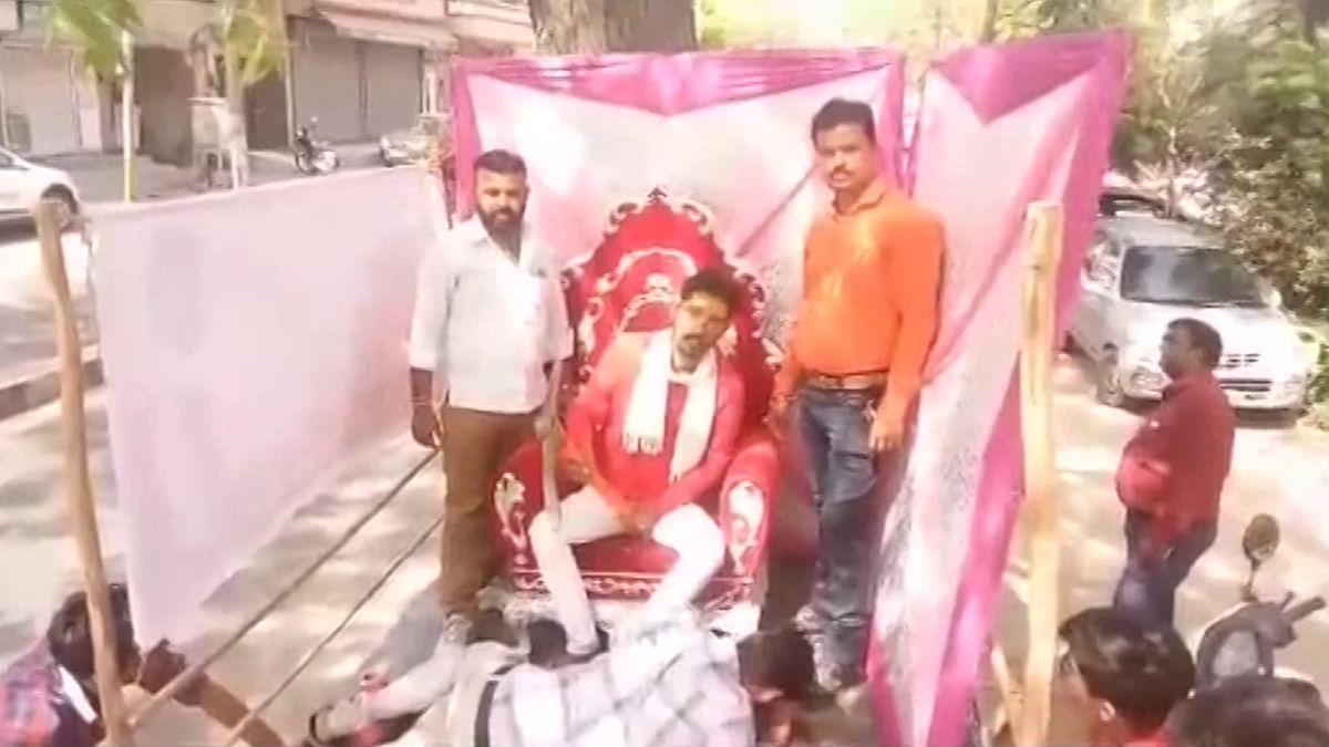 Murder Accused Shambhu Lal Regar Glorified in Ram Navami Rally