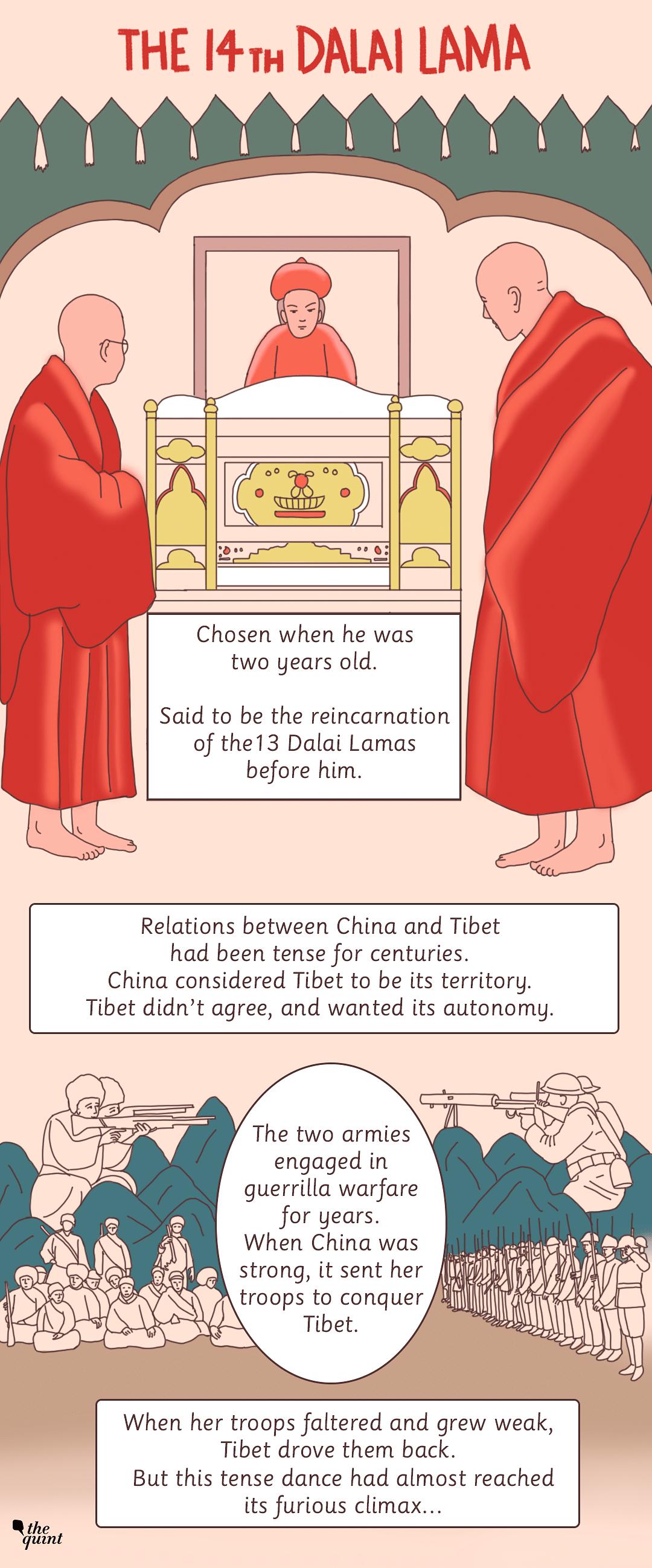 Graphic Novel: The Dalai Lama's Escape to India