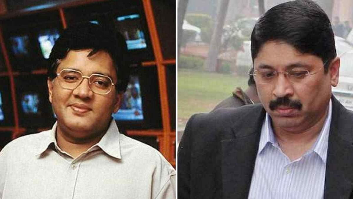 """Former Telecom Minister Dayanidhi Maran and his brother Kalanithi were accused in an  """"illegal"""" telephone exchange case."""