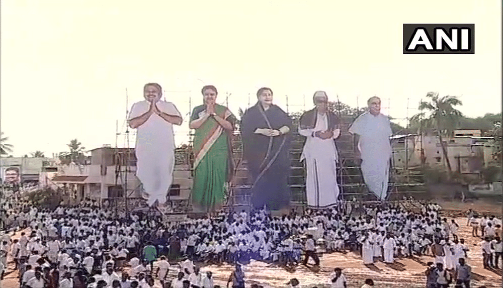 AIADMK also objects to use of Jaya's portrait on his party's flag.